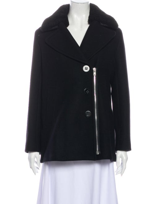 Sandro Wool Jacket Wool