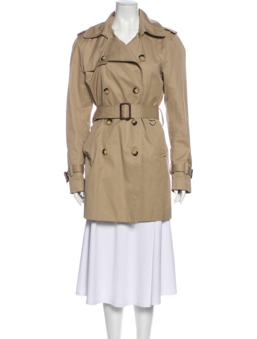 Sandro Trench Coat Brown