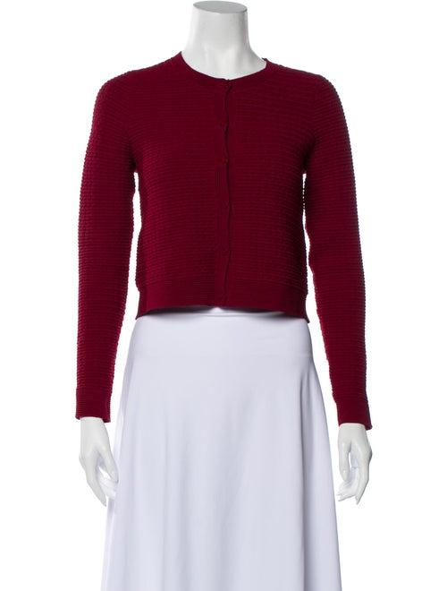 Sandro Crew Neck Sweater Red