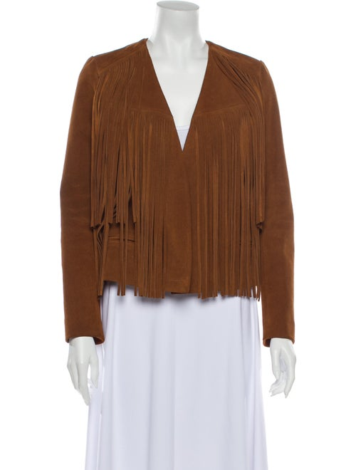Sandro Evening Jacket Brown