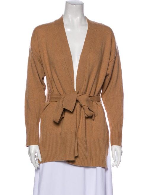 Sandro Wool V-Neck Sweater Wool