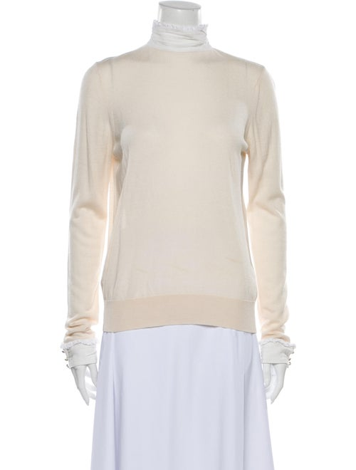 Sandro Mock Neck Sweater