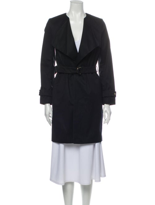 Sandro Trench Coat Black