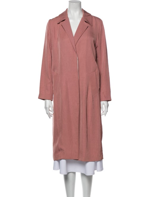 Sandro Trench Coat Pink