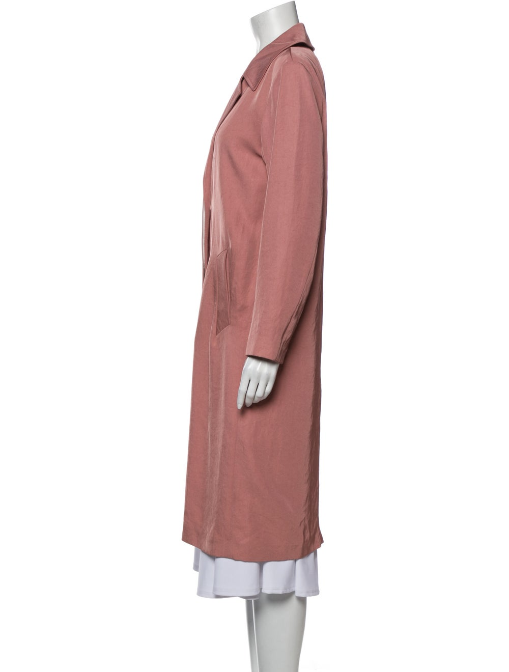 Sandro Trench Coat Pink - image 2