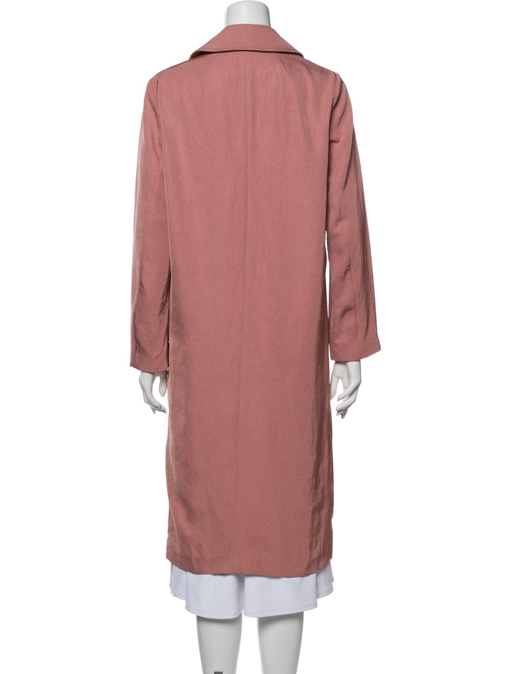 Sandro Trench Coat Pink - image 3