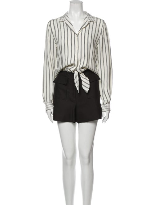 Sandro Striped Romper