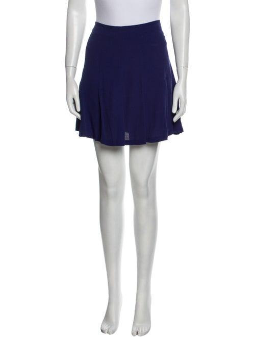 Sandro Mini Skirt Blue - image 1