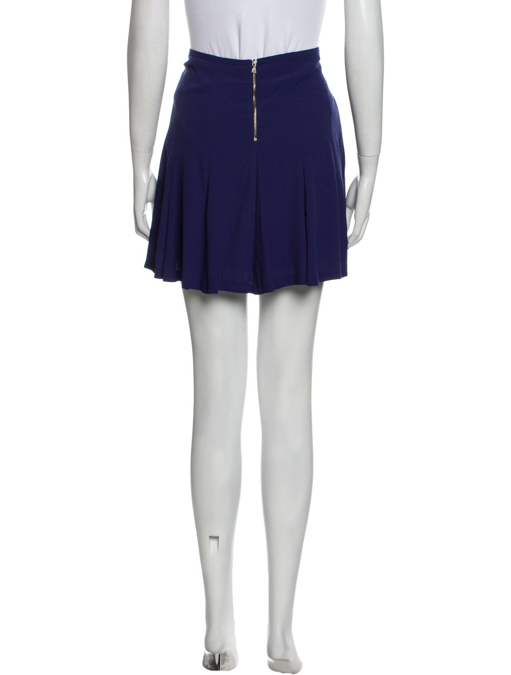 Sandro Mini Skirt Blue - image 3