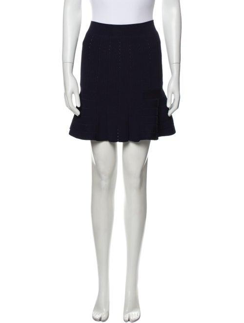 Sandro Mini Skirt Blue
