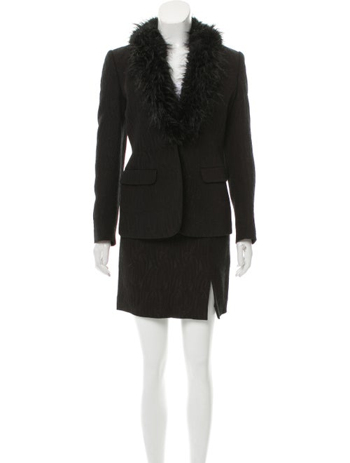 Sui by Anna Sui Skirt Suit Black