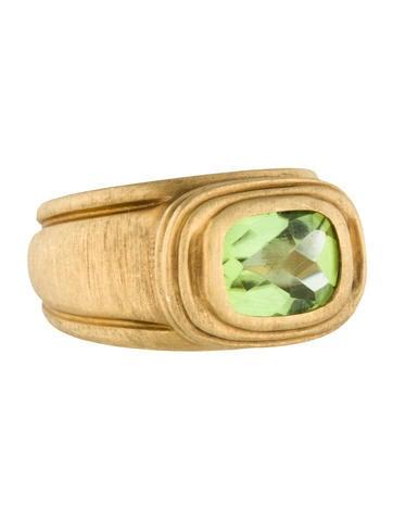 Slane Peridot Ring None