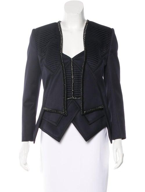 Sass & Bide Embellished Jacket Set Navy