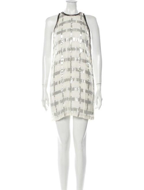 Sass & Bide Printed Mini Dress w/ Tags