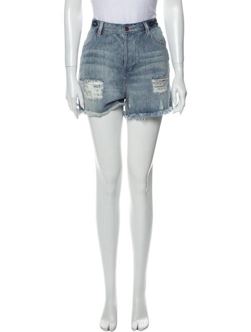 Sass & Bide Mini Shorts Blue