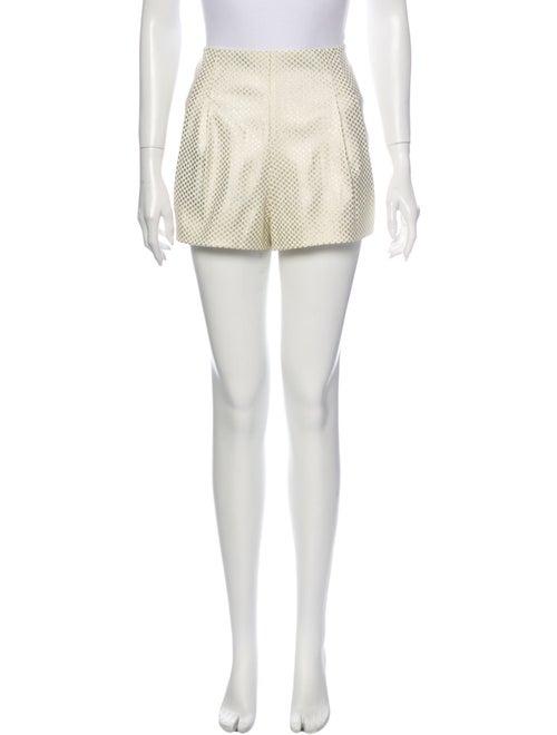Sass & Bide Mini Shorts Gold