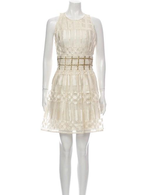 Sass & Bide Crew Neck Knee-Length Dress