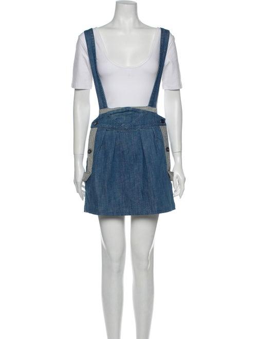 Sass & Bide Mini Skirt Blue
