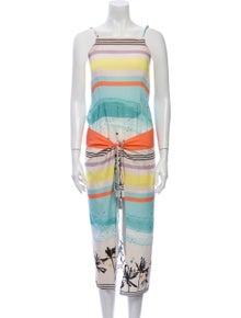 Salinas Striped Mini Dress w/ Tags