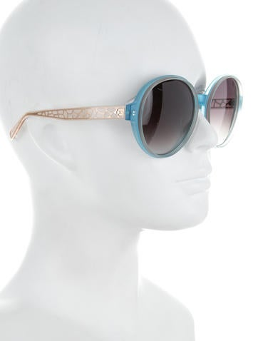 Round Tinted Sunglasses w/ Tags