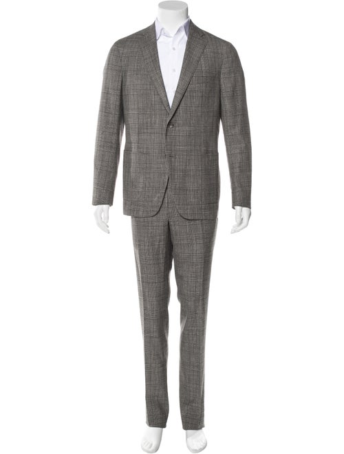 Samuelsohn Wool & Silk Two-Piece Suit w/ Tags grey