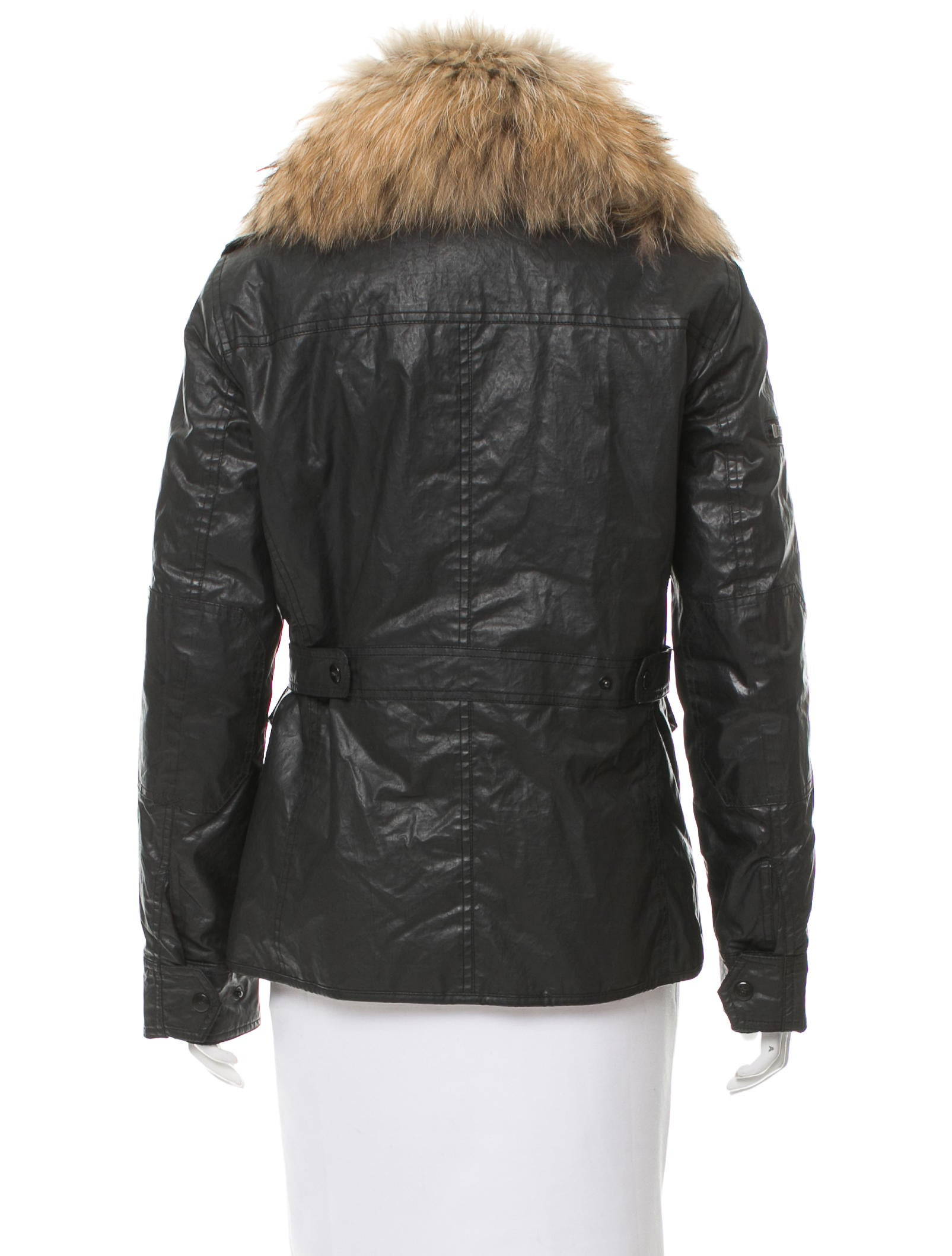 Fox leather jacket