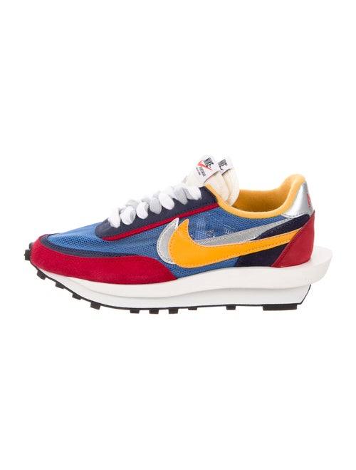 Sacai x Nike LD Waffle Varsity Blue Sneakers Blue
