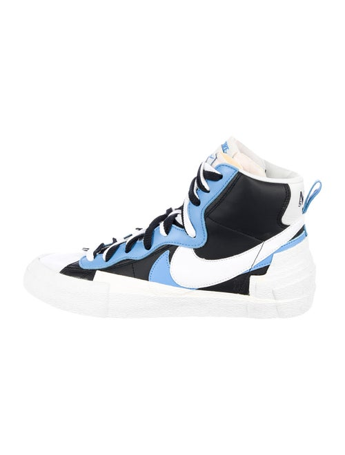 Sacai x Nike Blazer Mid White Black Legend Blue Sn