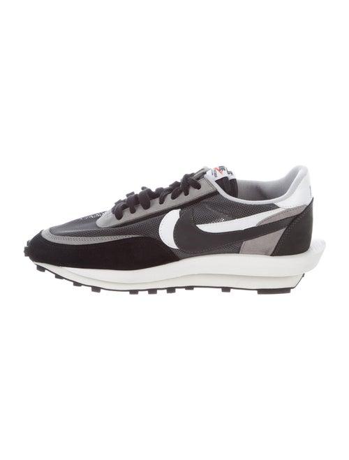 Sacai x Nike LD Waffle Athletic Sneakers Grey