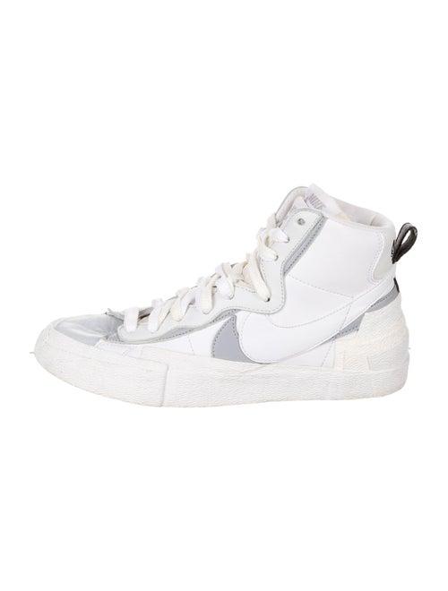 Sacai x Nike Leather Colorblock Pattern Sneakers W