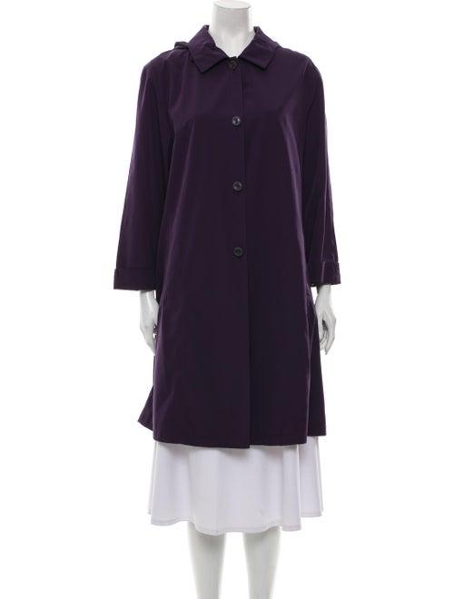 Sanyo Trench Coat Purple
