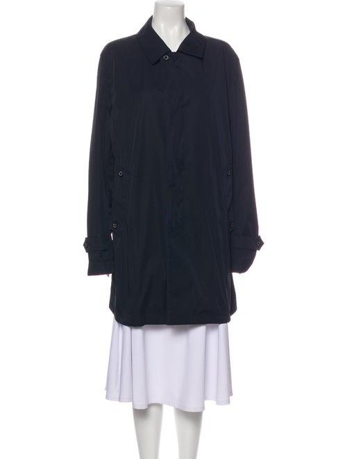 Sanyo Trench Coat Blue