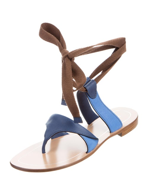 269c62065a64 Sarah Flint Grear Lace-Up Sandals w  Tags - Shoes - WSARA20161