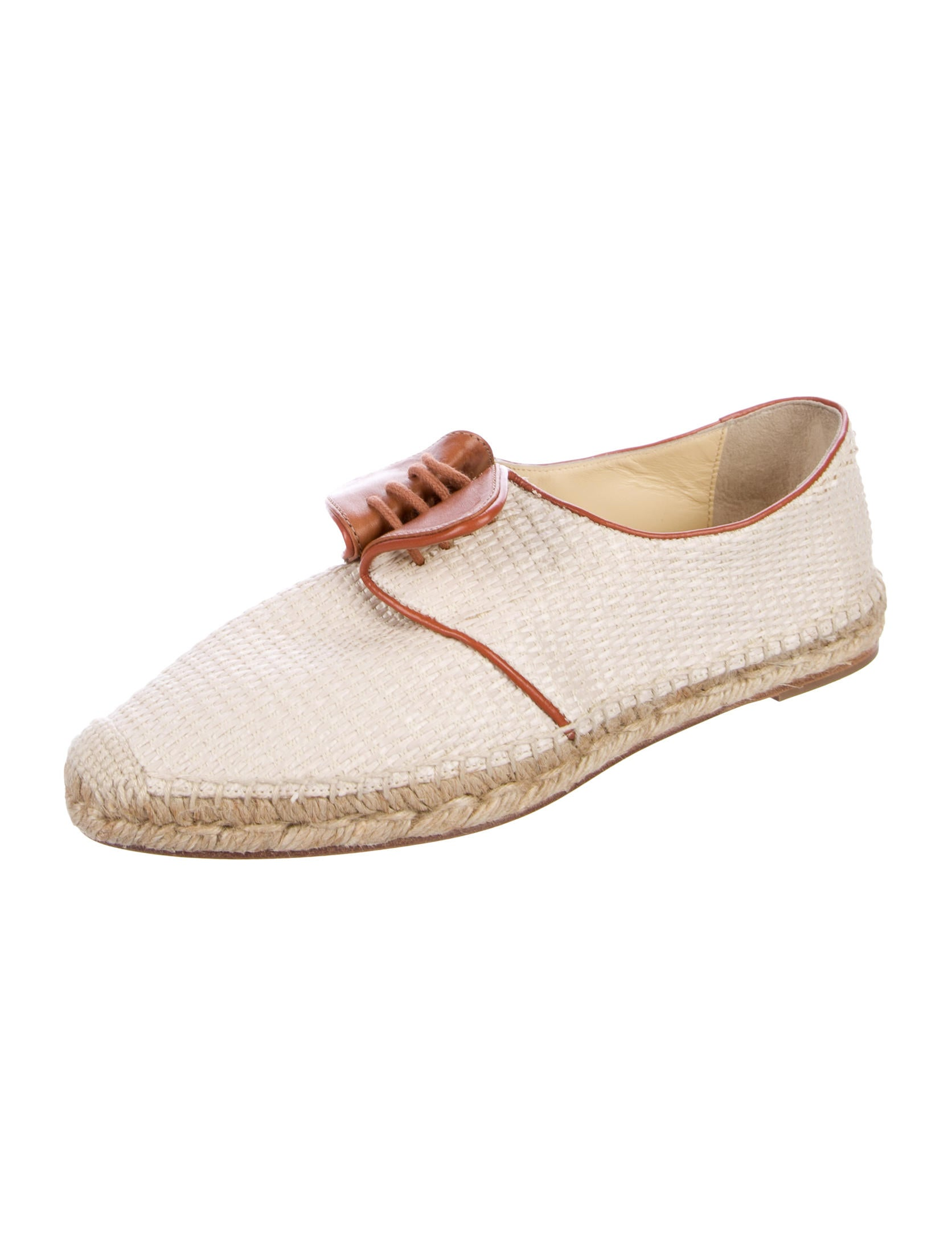 Sarah Flint Elena Raffia Espadrilles w/ Tags from china online free shipping pay with visa discount how much uUXPuvL