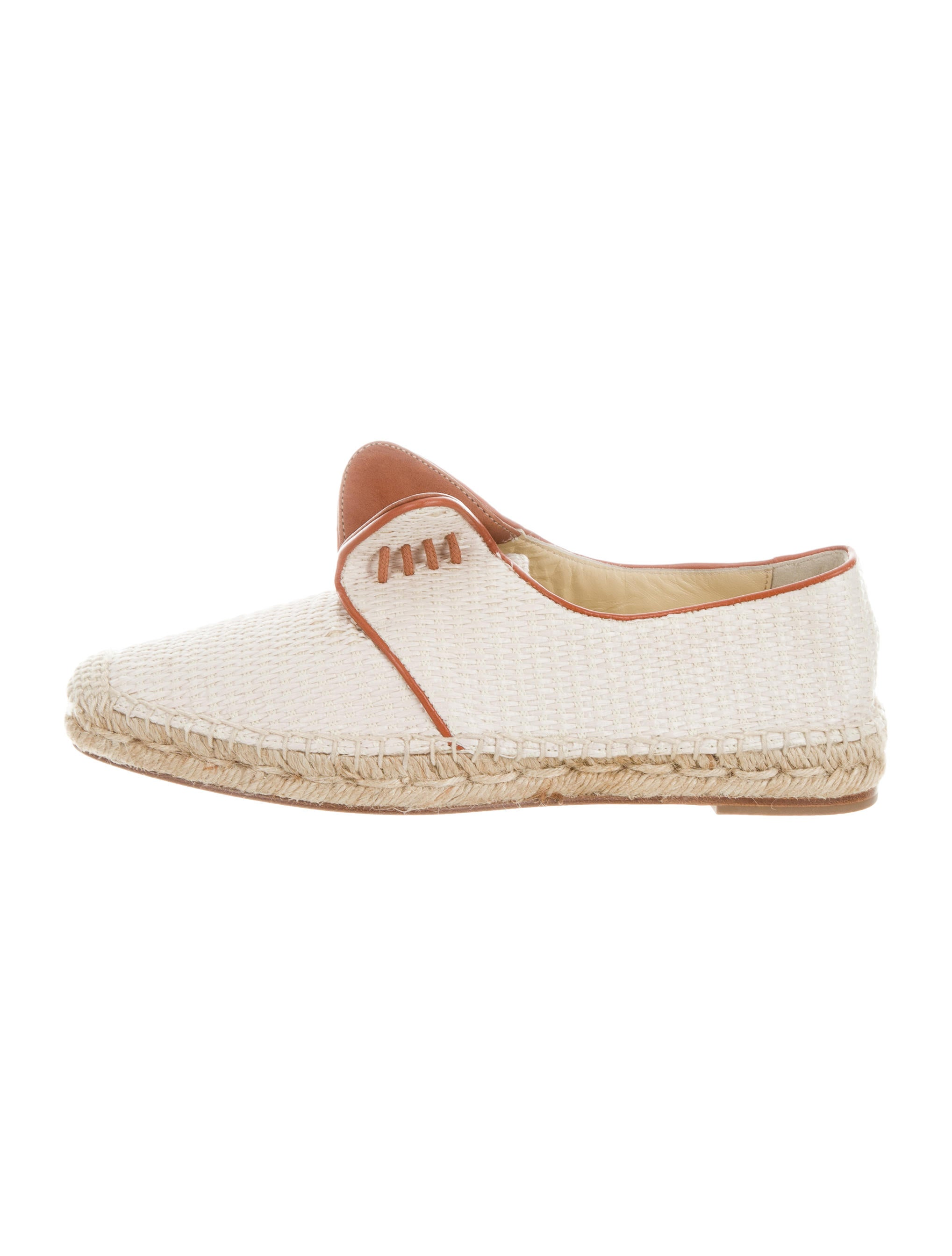 Sarah Flint Leather-Trimmed Lace-Up Espadrilles discount how much kboUTm7