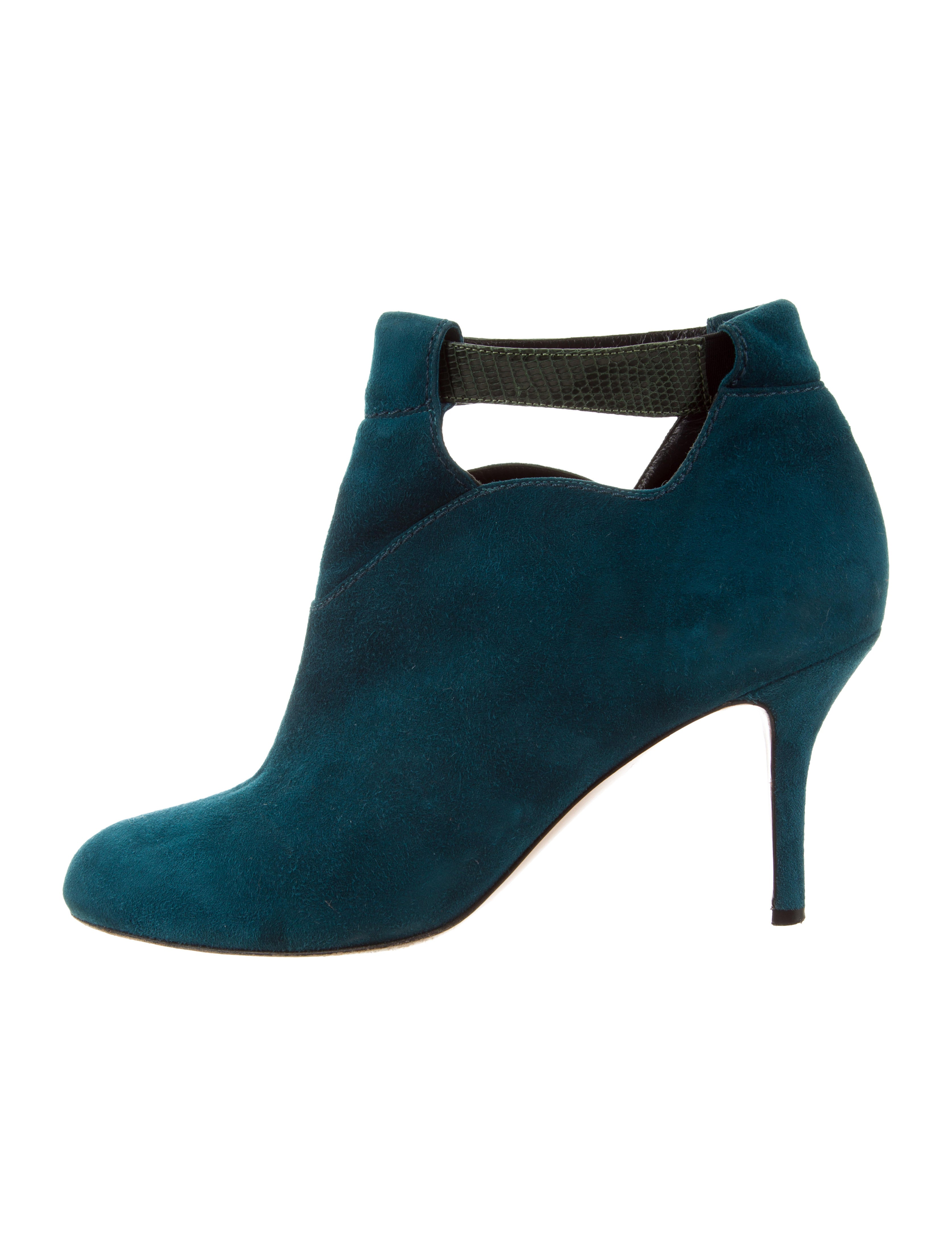 Sarah Flint Suede Round-Toe Booties fast delivery cheap online sSE4zH