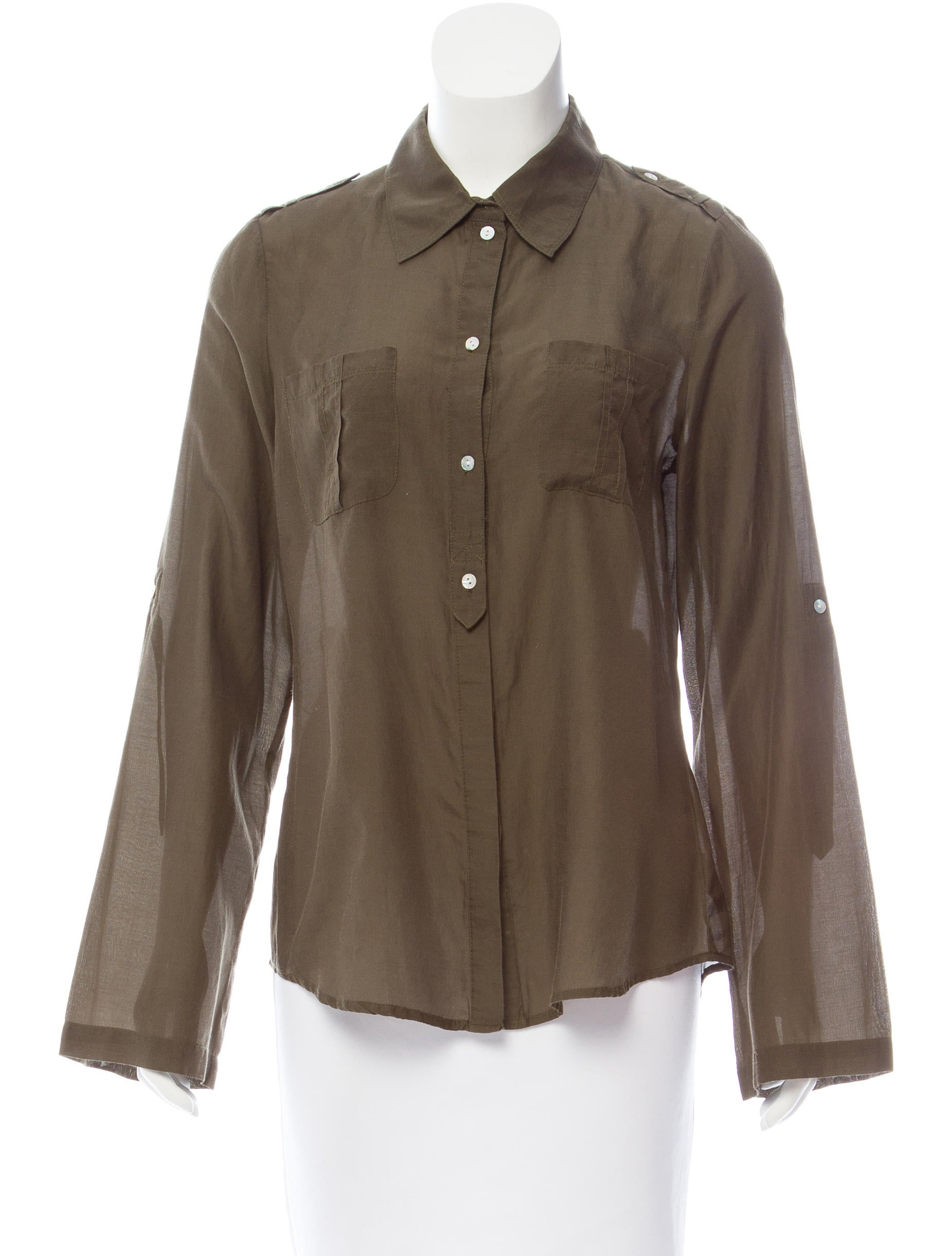Sanctuary collared button up top clothing wsary20021 for Women s collared button up shirts