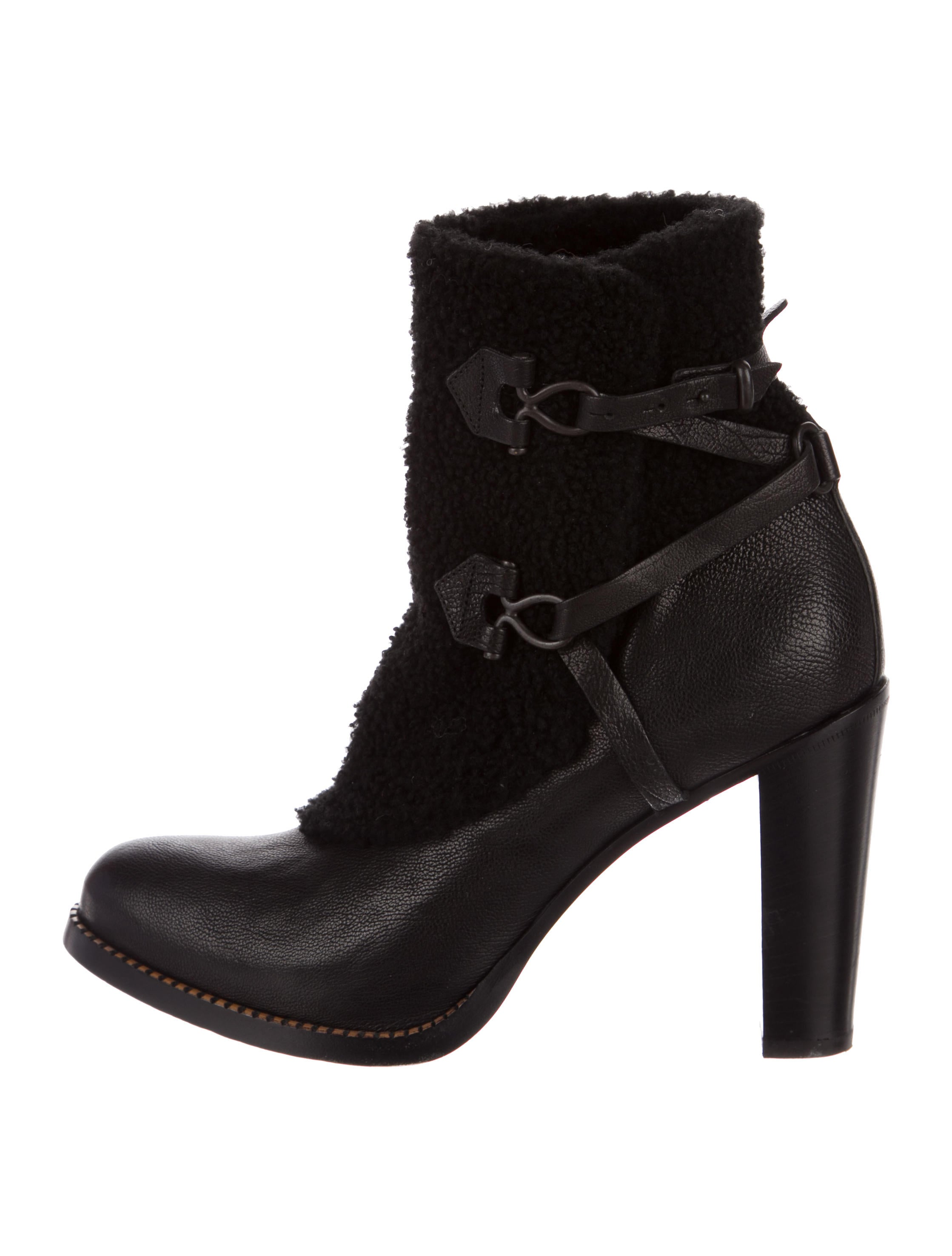 discount eastbay Satore Leather Shearling Ankle Boots sale hot sale free shipping new styles cheap sale 2014 new best sale cheap online FDsj4FUPR