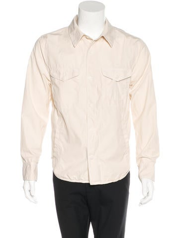 Save Khaki Woven Button Up Shirt Clothing Wsave20079