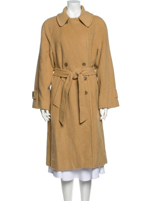 S by Searle Camel Hair Trench Coat
