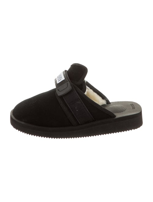 Suicoke Suede Slippers black