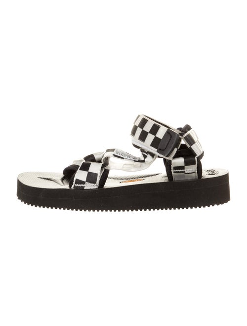 Suicoke Printed Sandals w/ Tags Black