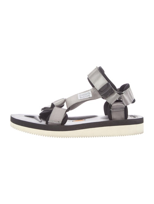 Suicoke Rubber Sandals Silver