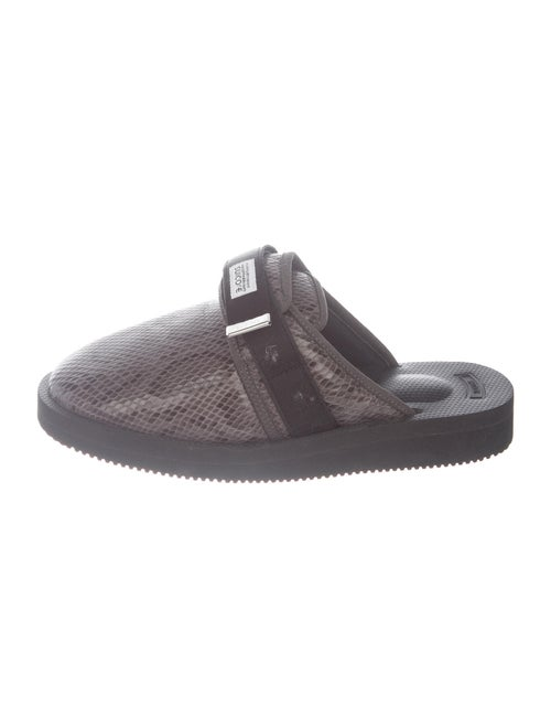 Suicoke Animal Print Sandals Grey
