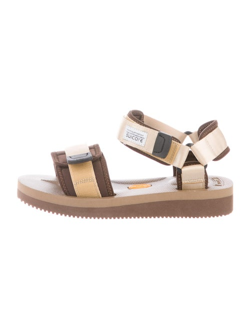 Suicoke Printed Gladiator Sandals Brown