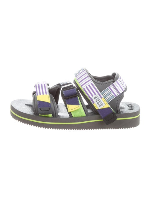 Suicoke Printed Sandals Grey