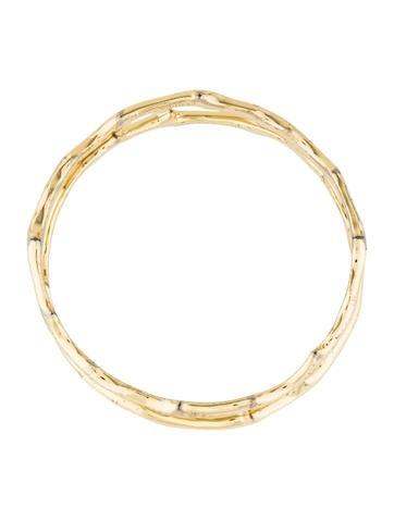 Set Of Two Bangle Bracelets