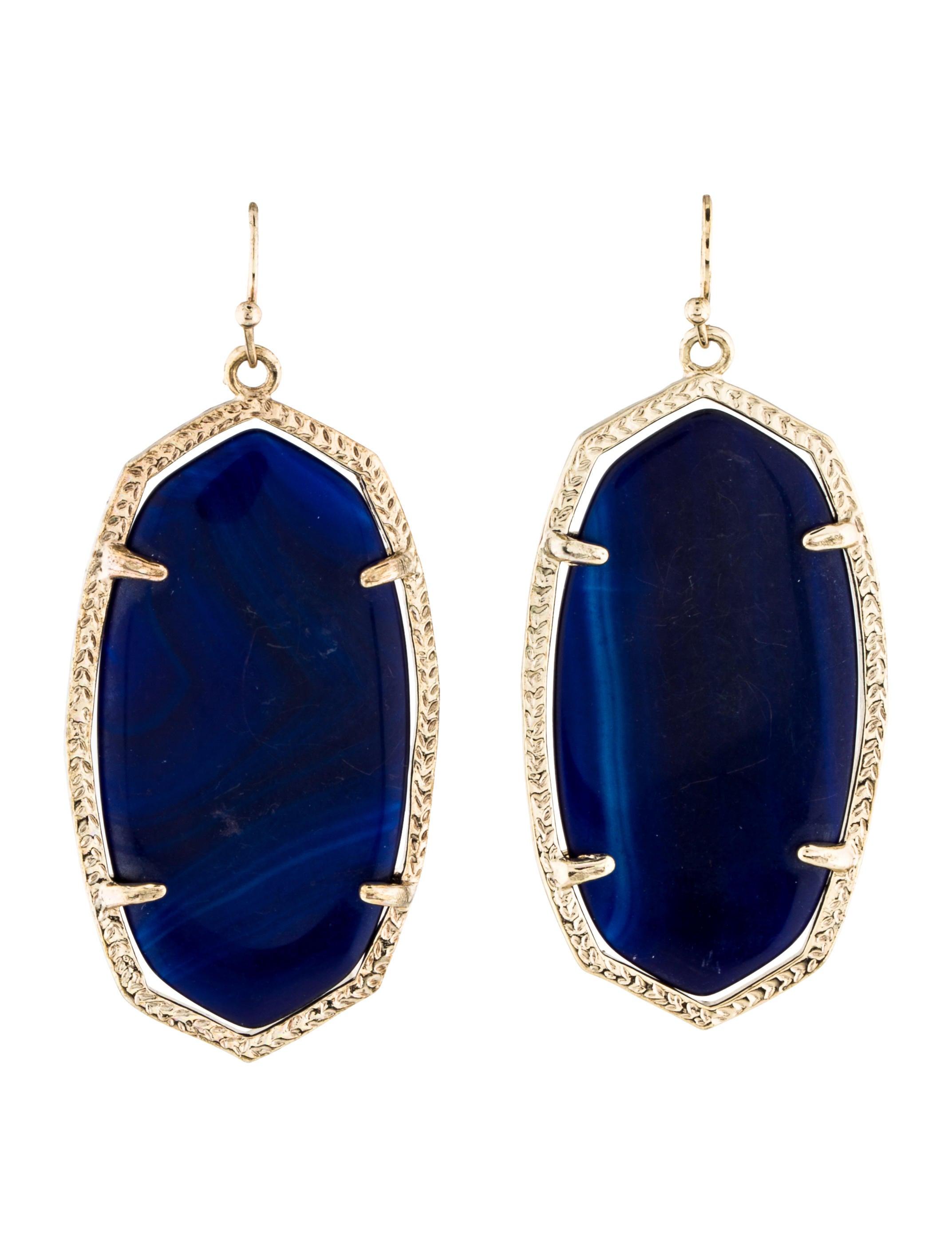 Kendra scott cobalt danielle earrings earrings for Kendra scott fine jewelry