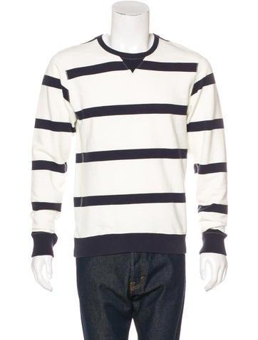 Scotch & Soda Striped Crew Neck Sweatshirt None