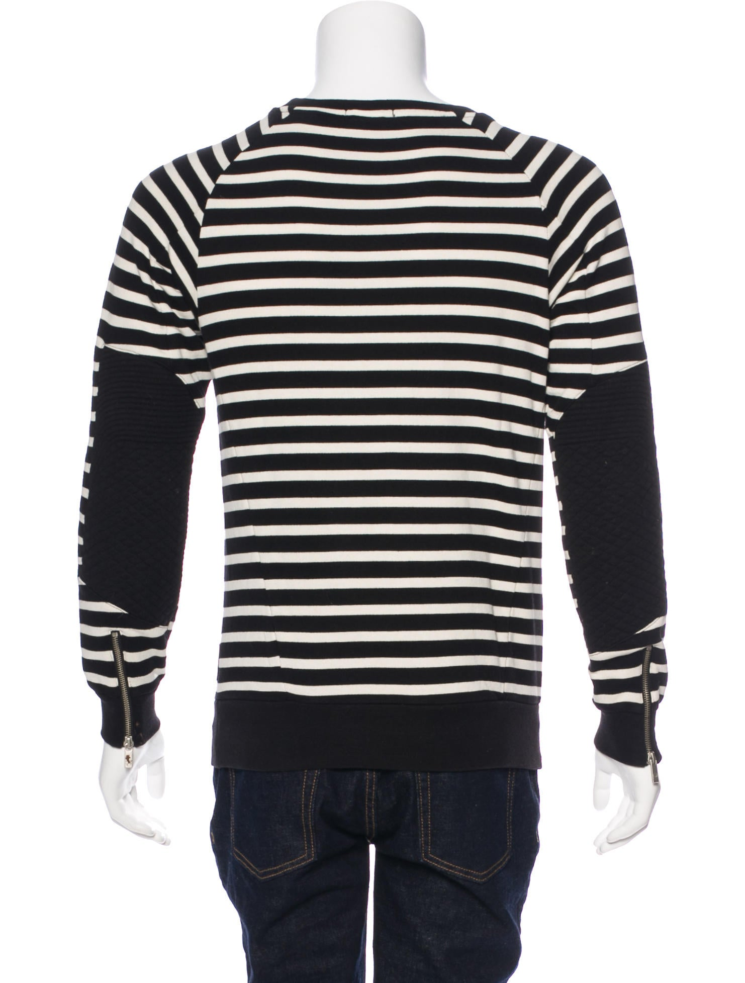 scotch soda striped pullover sweatshirt clothing. Black Bedroom Furniture Sets. Home Design Ideas